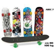 Skateboard Con Antiscivolo Abec-7 100 Kg 78 Cm