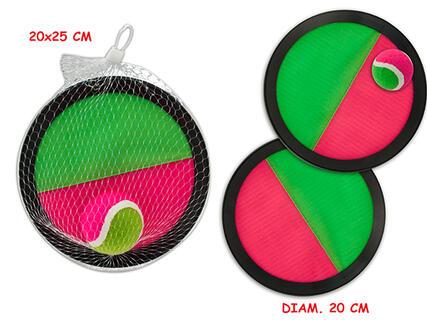 Giocattolo Catch Ball Diametro 20 Cm Con Pallina Teorema