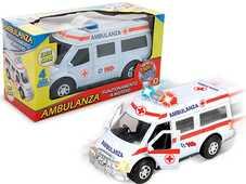 Giocattolo Ambulanza 4 Suoni E Luci Con Porte Apribili Teorema