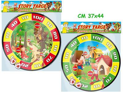 Story Target In Velcro Con Palline E Freccette (Assortimento)
