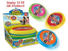 Frisbee 3 Colori Asst In Pvc 12 Pz - Display Box