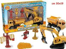 Mezzi In Cantiere - Playset (Assortimento)