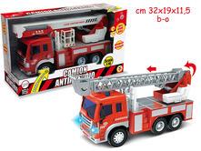 Camion Antincendio Con Luce E Suoni (Assortimento)