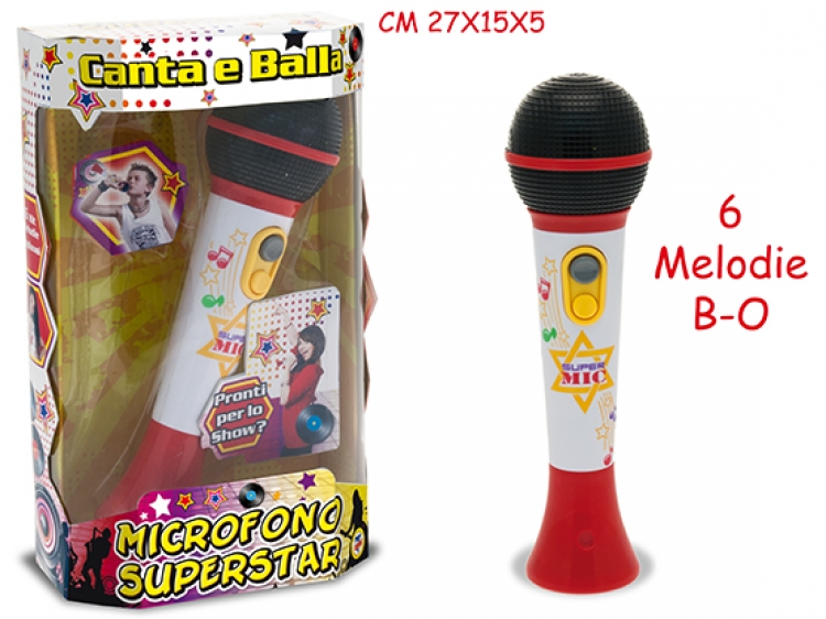 Image of Microfono Superstar A Batteria