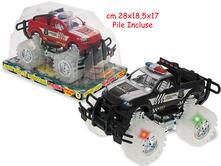 Monster Truck Police A Frizione Con Luci E Suoni (Assortimento)
