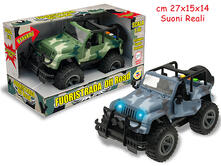 Jeep Fuoristrada C/Luci E Suoni Scala 1:16  2Ass - Open Touch Box