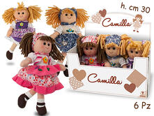 Camilla Floreale Bambola  3 Mdl 30Cm 6Pz In D. - Display Box