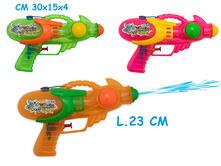 Teo'S. Pistola Ad Acqua Trasparente 3 Colori Assortiti. Busta