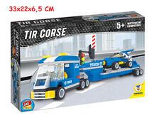 Costruzioni Click Clack Camion Con Trailer 248 Pz Box