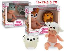Ciao Ciccio. Bambolotti Funny Animals 3 Ass. Window Box