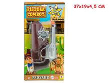 Teo'S. Pistola Cowboy Luci E Suoni Con Accessori