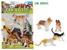 Cani E Gatti Busta 6 Pz