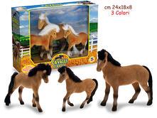 Cavalli Gran Famiglia - Scatola 3 Pz (Assortimento)