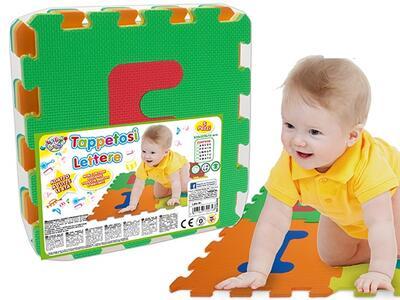 Tappeto Puzzle Lettere 5 Pz