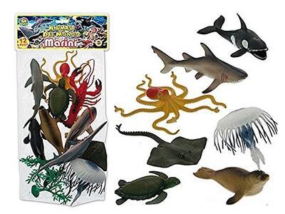 Animali Marini In Pvc 12 Pz. Busta