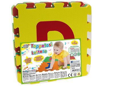 Tappettini Con Lettere 9 Pz Cm 32X32X10