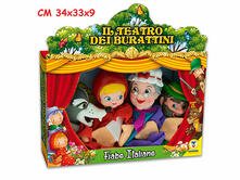 Marionette Teatrino Fiabe Italiane