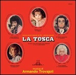 Cover CD Colonna sonora La Tosca
