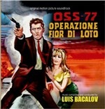 Cover CD Colonna sonora Oss 77 operazione Fior di loto