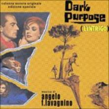 Darky Purpose (Colonna sonora) - CD Audio di Angelo Francesco Lavagnino