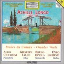 Trio per Violino, Violoncello e Pianoforte, Sonata per Violoncello e Pianoforte - CD Audio di Aldo Ciccolini,Achille Longo