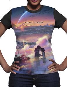 T-Shirt donna Your Name. Tramonto