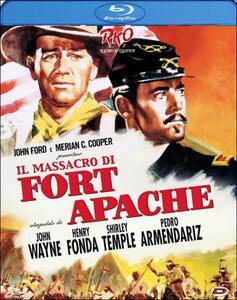 Il massacro di Fort Apache di John Ford - Blu-ray