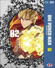 One Punch Man. Vol. 2. Limited Collector's Box (DVD + Blu-ray) di Shingo Natsume
