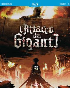 L' attacco dei giganti. Serie completa (4 Blu-ray) di Tetsuro Araki - Blu-ray