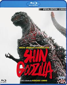 Shin Godzilla (2 Blu-ray) di Hideaki Anno,Shinji Higuchi - Blu-ray