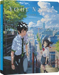 Cover Dvd Your Name. Steelbook Limited Edition (Blu-ray + DVD)