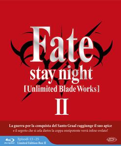 Fate/Stay Night. Unlimited Blade Works. Stagione 2. Episodi 13-25. Limited Edition Box (3 Blu-ray) - Blu-ray