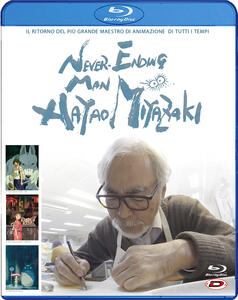 Never Ending Man. Hayao Miyazaki (Blu-ray) di Kaku Arakawa - Blu-ray