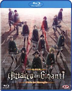 Film L' attacco dei giganti. Il film. L'urlo del risveglio (Blu-ray) Masashi Koizuka