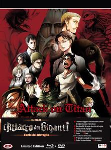 L' attacco dei giganti. Il film. L'urlo del risveglio. Edizione limitata (DVD + Blu-ray) di Masashi Koizuka - DVD + Blu-ray