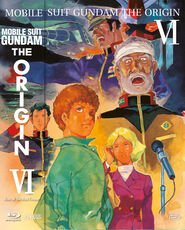 Film Mobile Suit Gundam - The Origin VI - Rise Of The Red Comet (Blu-ray) Takashi Imanishi