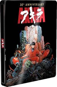 Cover Dvd Akira. 30th Anniversary Edition Steelbook (DVD + Blu-ray)