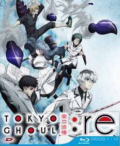 Tokyo Ghoul: Re - Stagione 03 Box 01 (Eps 01-12). Limited Edition (3 Blu-ray) - Blu-ray