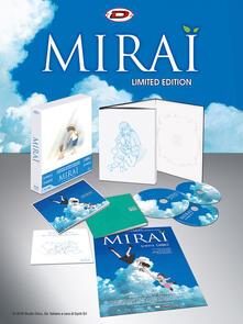 Mirai. Limited Edition Digipack Box. Con Booklet, Card e Poster (DVD + 2 Blu-Ray) di Mamoru Hosoda - DVD + Blu-ray