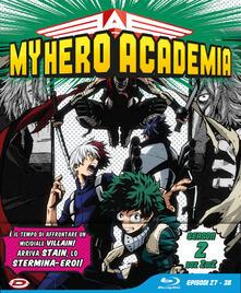 My Hero Academia. Stagione 02 Box #02 Eps 27-38. Limited Edition (3 Blu-ray) di Kenji Nagasaki - Blu-ray