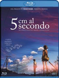 Cover Dvd 5 cm al secondo. Standard Edition (Blu-ray)