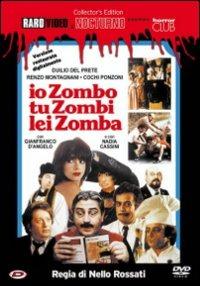 Cover Dvd Io zombo, tu zombi, lei zomba (DVD)