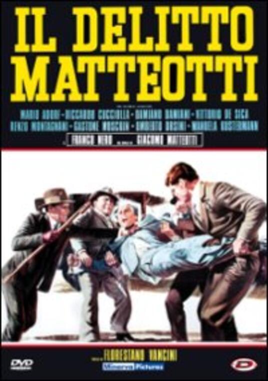 Il delitto Matteotti di Florestano Vancini - DVD