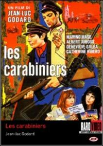 Les carabiniers di Jean-Luc Godard - DVD