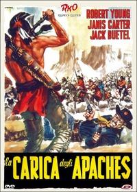 Cover Dvd carica degli Apaches (DVD)