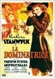 Cover Dvd DVD La dominatrice
