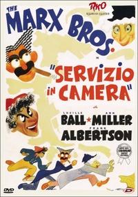 Cover Dvd Servizio in camera (DVD)