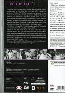Il paradiso-tabù di Friedrich Wilhelm Murnau,Robert Joseph Flaherty - DVD - 2