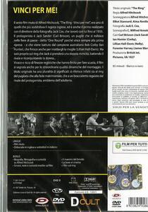 The Ring. Vinci per me! di Alfred Hitchcock - DVD - 2