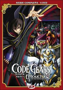 Code Geass. Lelouch of the Rebellion. R2. Serie completa (4 DVD) di Goro Taniguchi - DVD
